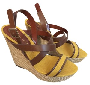 Charles & Keith Brown/Yellow Wedges