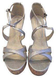 Banana Republic Silver Sandals