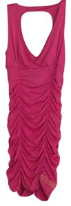 House of Deréon short dress Pink on Tradesy