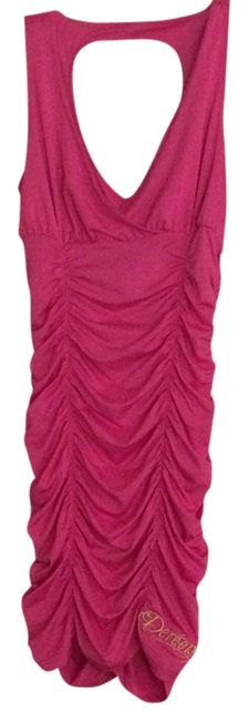 Preload https://img-static.tradesy.com/item/3912001/house-of-dereon-pink-short-casual-dress-size-6-s-0-0-650-650.jpg