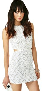 shakuhachi short dress White Nasty Gal Urban Outfitters on Tradesy