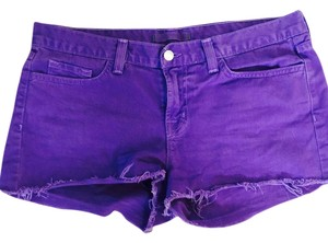 J Brand Shorts Purple