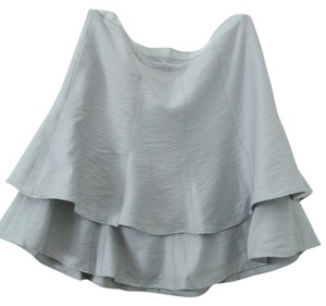 BCBGMAXAZRIA Material:90% Rayon 10% Nylon Mini Skirt grey