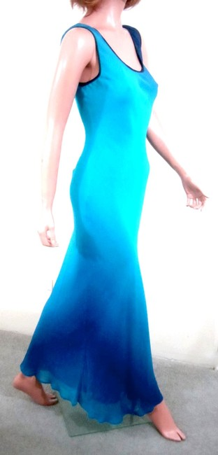 Ombre Color Maxi Dress by MANNEQUINS Sleeveless Maxi Image 2