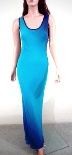 Ombre Color Maxi Dress by MANNEQUINS Sleeveless Maxi Image 4
