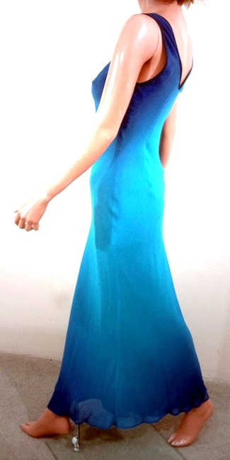 Ombre Color Maxi Dress by MANNEQUINS Sleeveless Maxi