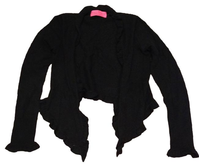 Preload https://img-static.tradesy.com/item/3912889/juicy-couture-black-cardigan-size-4-s-0-0-650-650.jpg