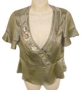 Nanette Lepore Top Taupe