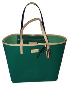 Coach Tote in Summer Green