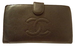 Chanel Chanel Caviar Leather Wallet