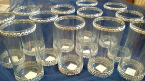 Classic Art Deco Centerpiece Vases/candle Holders