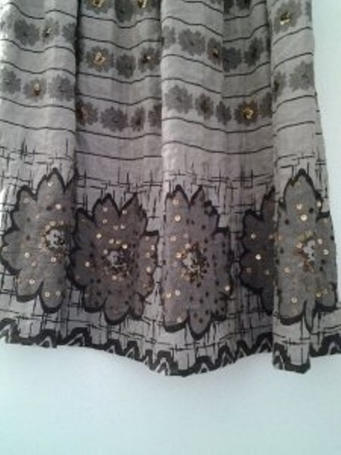 Lapis Skirt Brown and beige