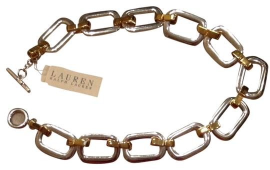 Preload https://item3.tradesy.com/images/ralph-lauren-silver-gold-and-necklace-3913972-0-0.jpg?width=440&height=440