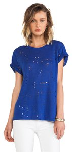 IRO Alice + Olivia Nasty Gal T Shirt Blue