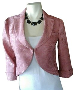 True Meaning Formal Salmon Coral Blazer