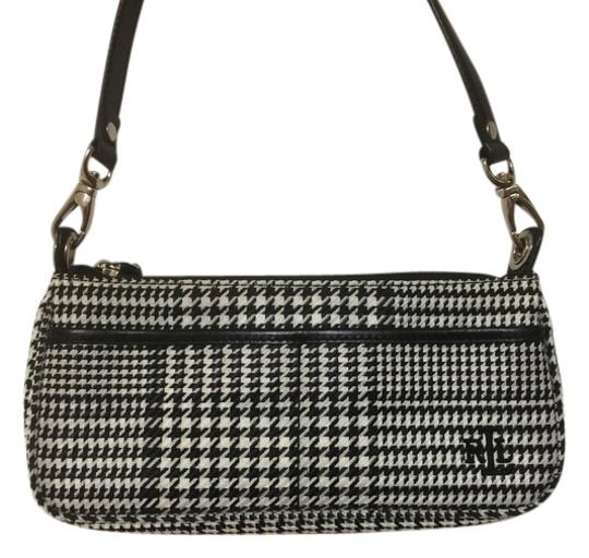 Preload https://item4.tradesy.com/images/ralph-lauren-houndstooth-black-and-white-fabric-baguette-3915163-0-0.jpg?width=440&height=440