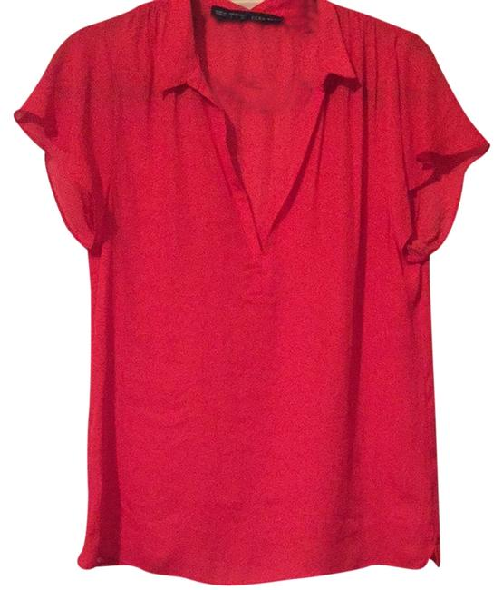 Zara Top Red Image 0