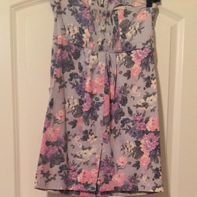 Urban Outfitters short dress Blue Floral on Tradesy