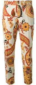Other Gucci Pants Gucci Women Pants Gucci Paisley Size Small Paisley Capri/Cropped Denim-Light Wash