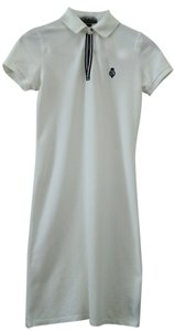 Ralph Lauren short dress white Cotton on Tradesy