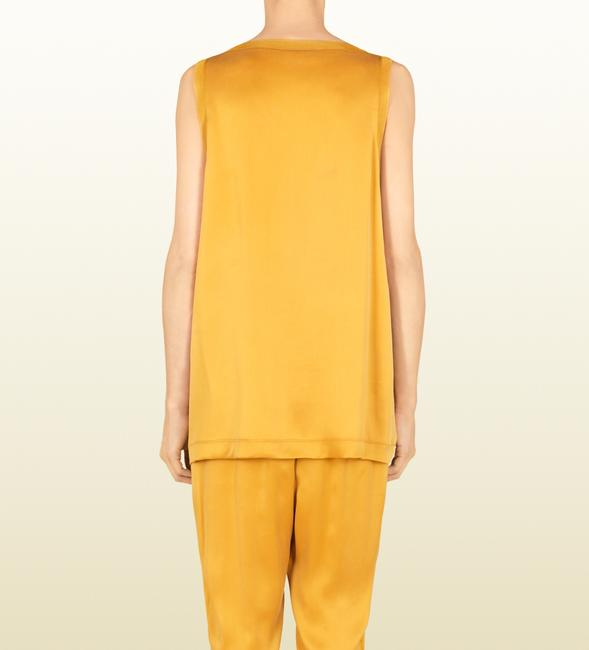 Gucci Blouse Women Clothes 340290 Top Yellow