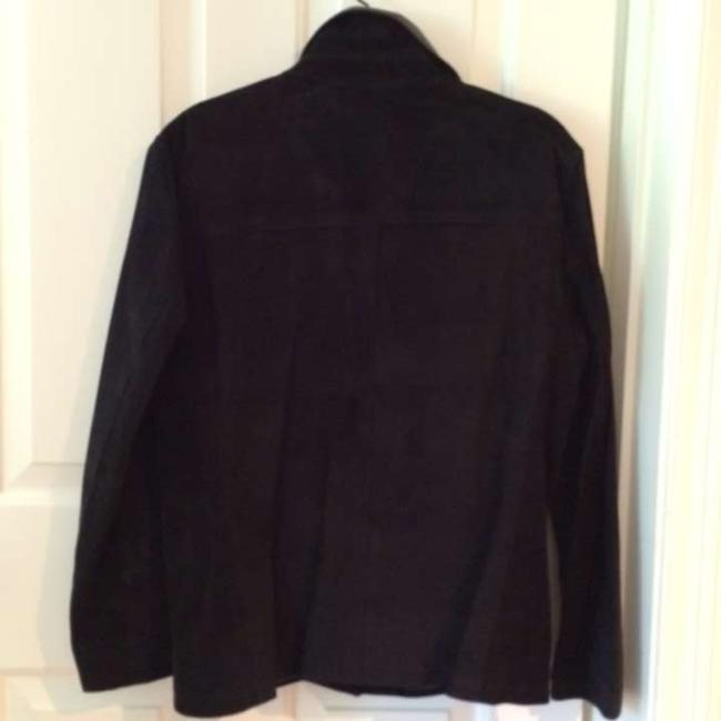 Bushwacker / Leather Black suede Leather Jacket