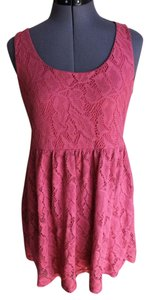 Nordstrom short dress Maroon on Tradesy