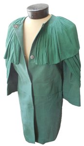 Ports 1961 Silk Cotton Green Jacket