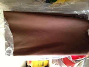 Brown Linen Tablecloth