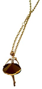 New 14K Gold Filled Dancer Necklace Pendant J981