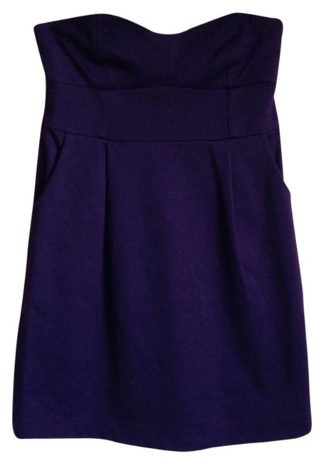 Forever 21 short dress Plum on Tradesy