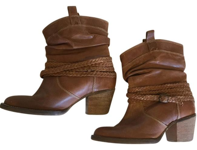 Dingo Tan Sister Boots/Booties Size US 6 Regular (M, B) Dingo Tan Sister Boots/Booties Size US 6 Regular (M, B) Image 1