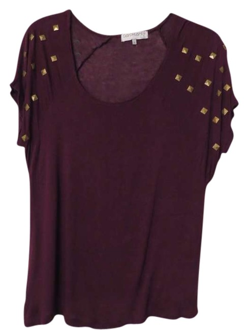 Urban Outfitters Studded Top Purple