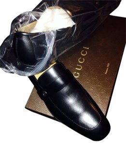 Gucci Men's Loafers Black Formal