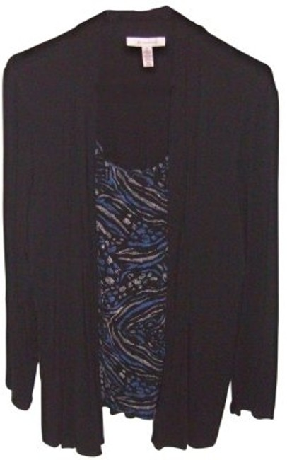 Preload https://img-static.tradesy.com/item/39189/jm-collection-black-and-blue-nice-to-wear-tunic-size-16-xl-plus-0x-0-0-650-650.jpg