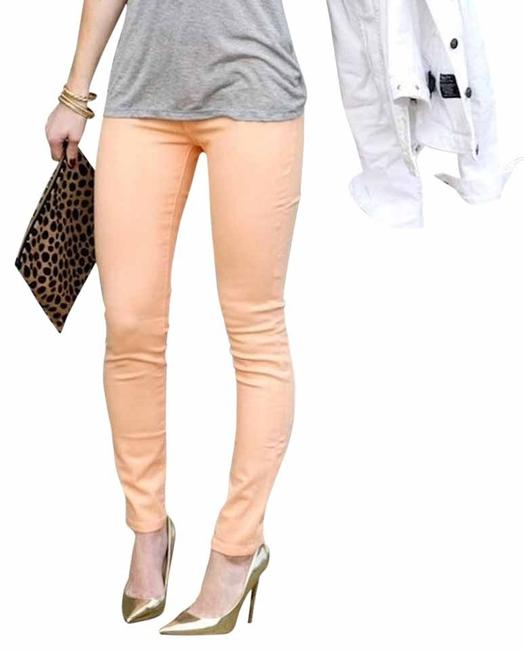 Preload https://item3.tradesy.com/images/henry-and-belle-orange-coated-spring-skinny-jeans-size-25-2-xs-3919357-0-1.jpg?width=400&height=650