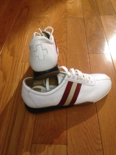 Bally White / Red Athletic