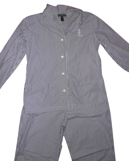 Preload https://item2.tradesy.com/images/ralph-lauren-blue-and-white-size-l-pin-strip-pjs-3919996-0-0.jpg?width=440&height=440