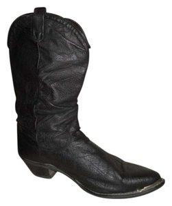 Dingo Leather Western black Boots
