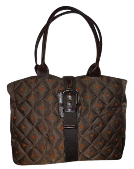 Preload https://img-static.tradesy.com/item/3920722/eddie-bauer-quilted-down-brown-and-orange-nylon-with-leather-trim-tote-0-0-540-540.jpg