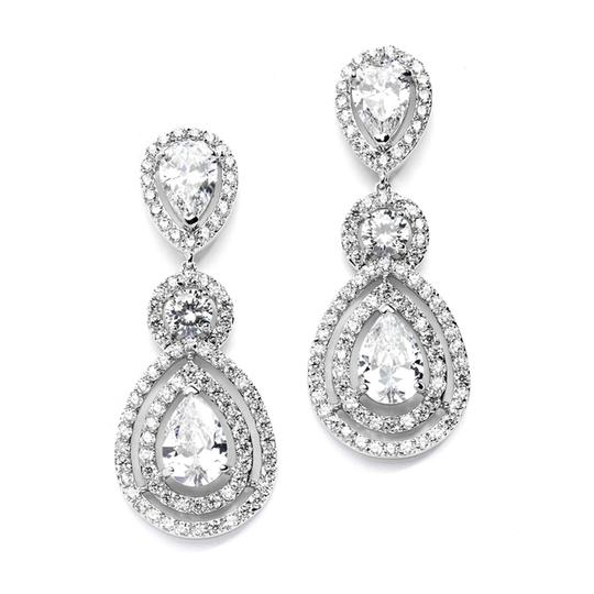 Clear Highest Quality Aaa Statement Earrings