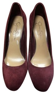 Jessica Simpson Marsala Wedges