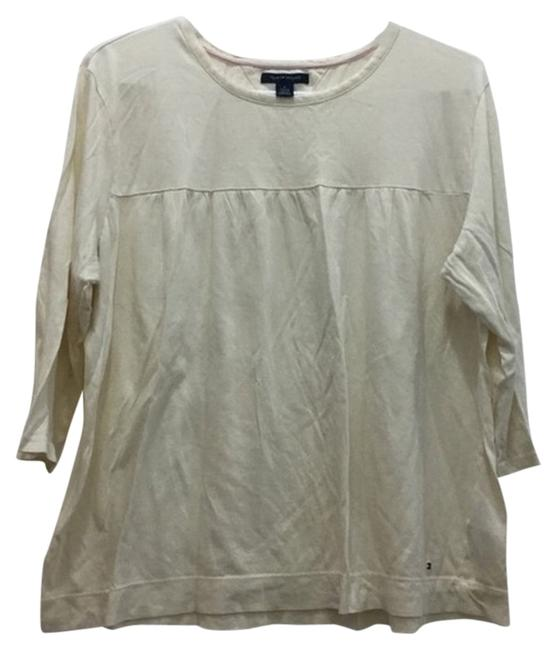 Preload https://item4.tradesy.com/images/tommy-hilfiger-cream-vintage-blouse-size-16-xl-plus-0x-3921238-0-2.jpg?width=400&height=650
