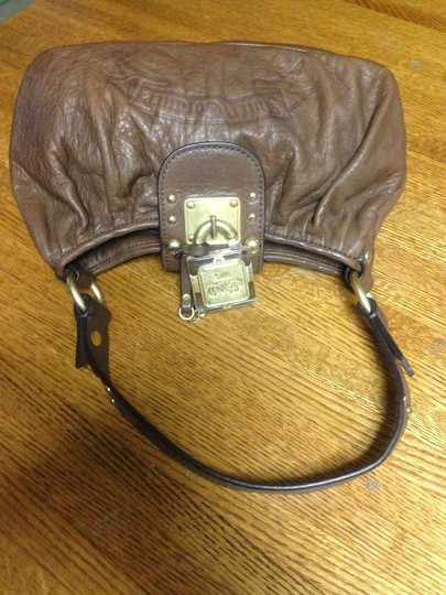 Juicy Couture Leather Purse Handbag Hobo Bag
