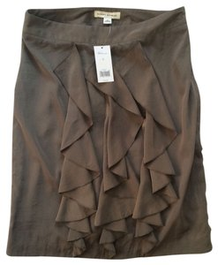 Banana Republic Skirt coppery olive
