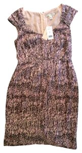 Banana Republic short dress pink, purple, black on Tradesy