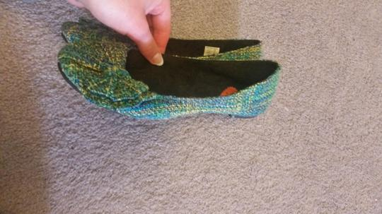 Rocket Dog Green, Blue, Yellow multicolor Flats