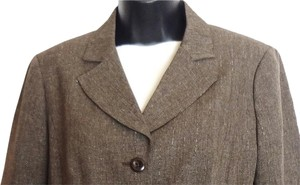 Van Heusen Office Appropriate Brown Blazer
