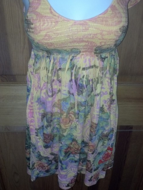 Butterfly Dropout Boho Top Multi Image 5