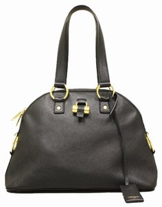 Saint Laurent Yves Casual Luxury Muse Satchel in Black